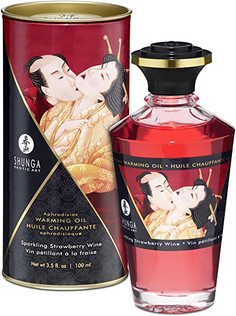 APHRODISIAC OIL – WINE STRAWBERRY 100ML
