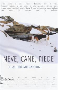Neve, Cane, Piede